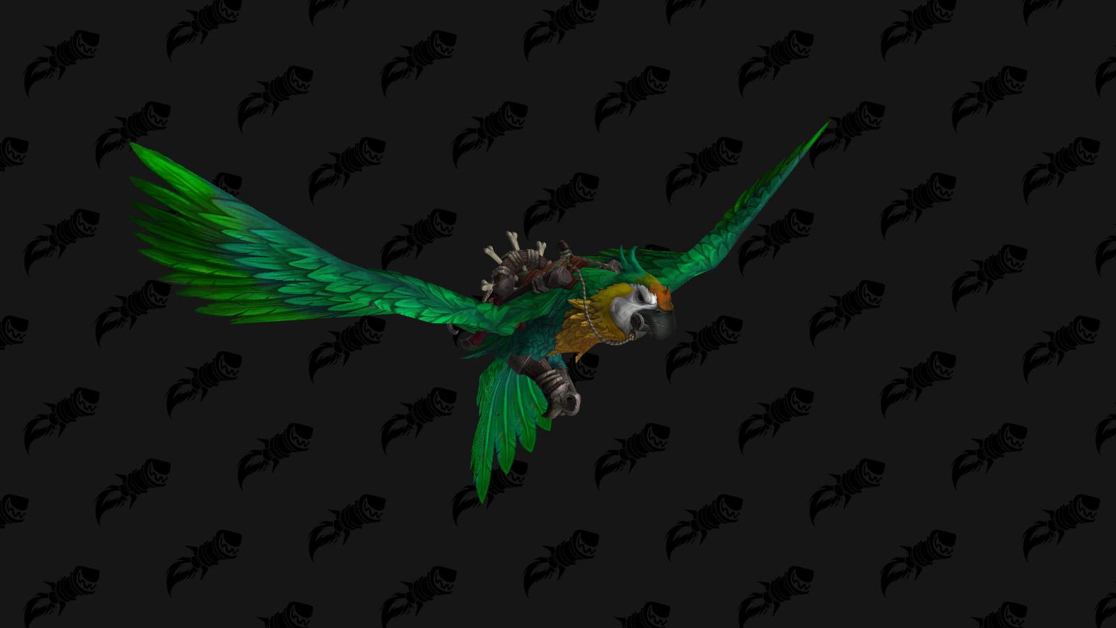 Monture perroquet géant vert - Battle for Azeroth