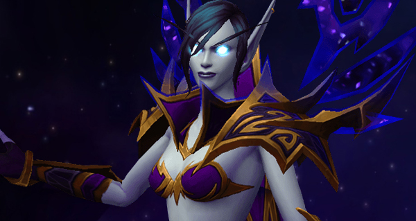 battle for azeroth : race alliee elfe du vide