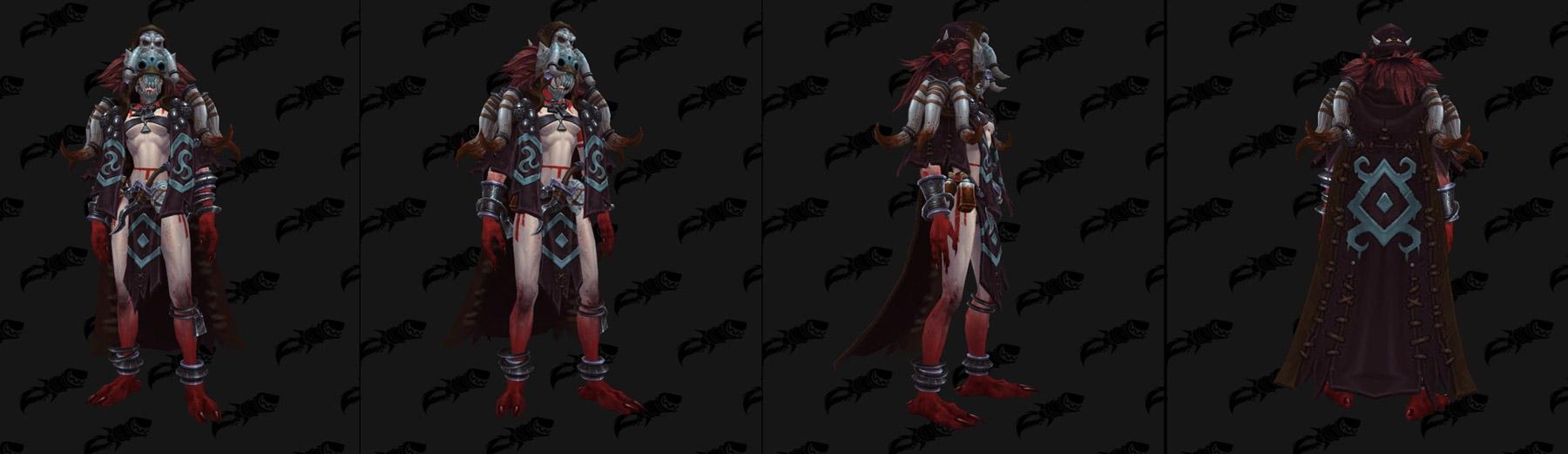 Troll de sang (modèle femme) - Battle for Azeroth