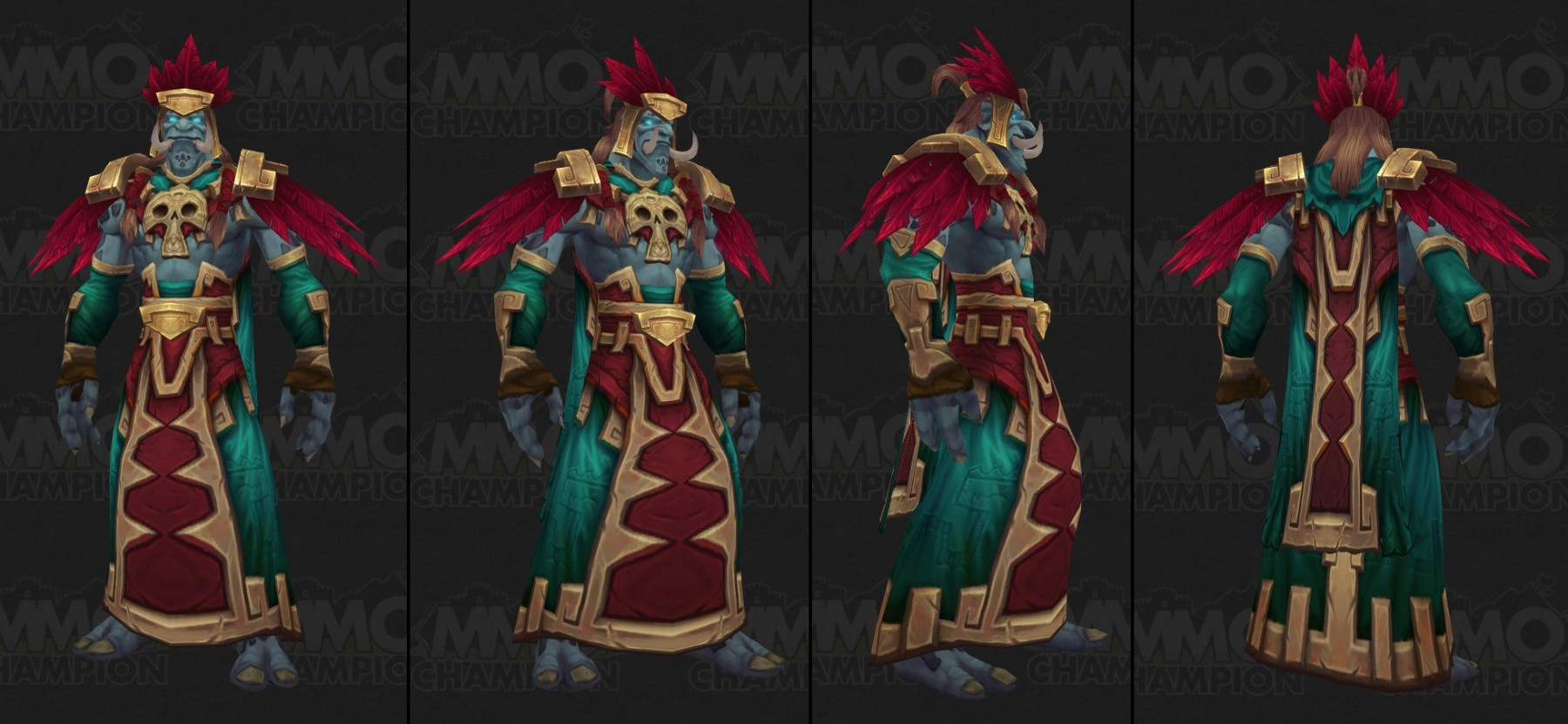 Modèle de Troll de Zandalari (Homme) - Battle for Azeroth