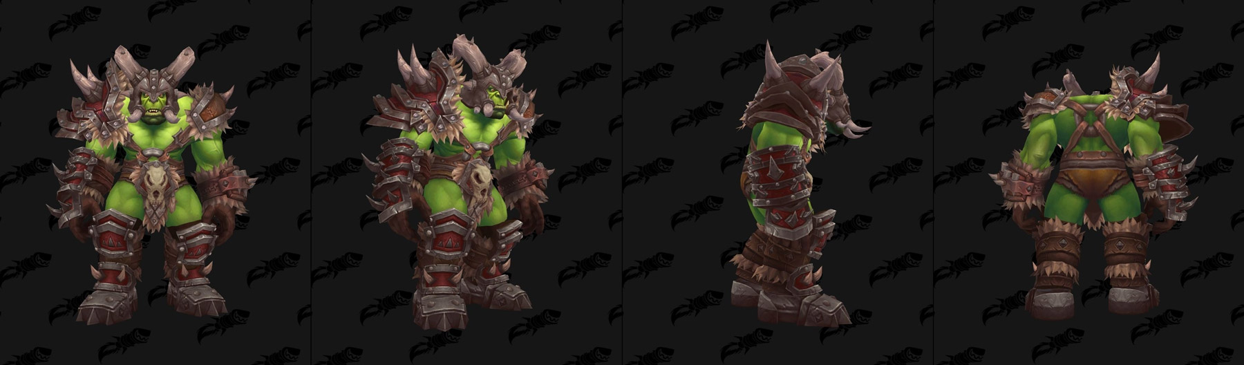 Ensemble clan Orc - Modèle masculin - Incomplet - Battle for Azeroth