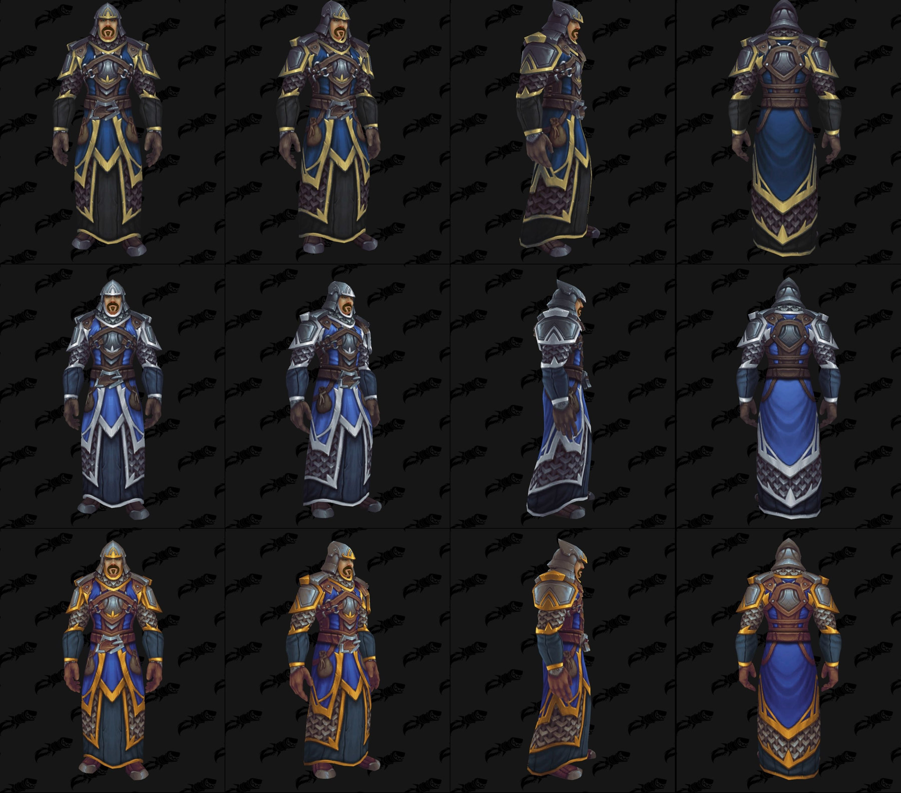 Ensembles Front de guerre (Alliance) en maille - Tier 1 - Battle for Azeroth