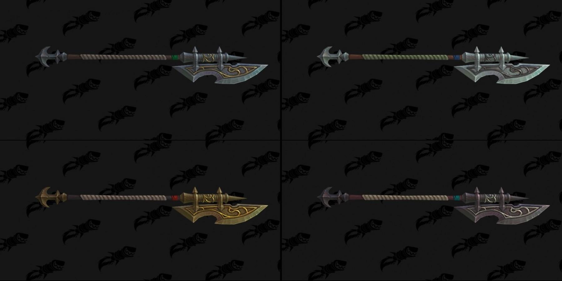Modèle d'arme des Gardes de Kul Tiras - Battle for Azeroth