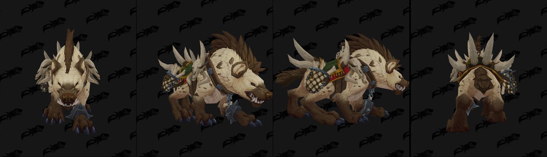 Monture hyène - Battle for Azeroth