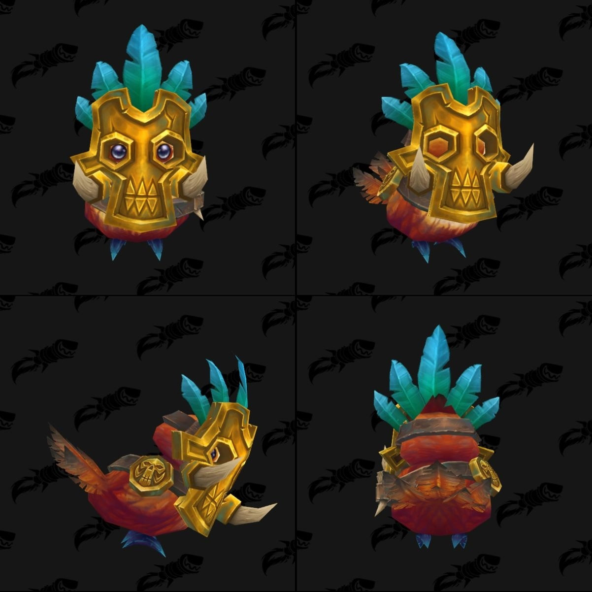 Pépé costume Zandalari - Battle for Azeroth