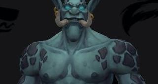 Couleur de peau Troll zandalari