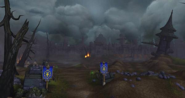 battle for azeroth : une image de lordaeron apres la bataille
