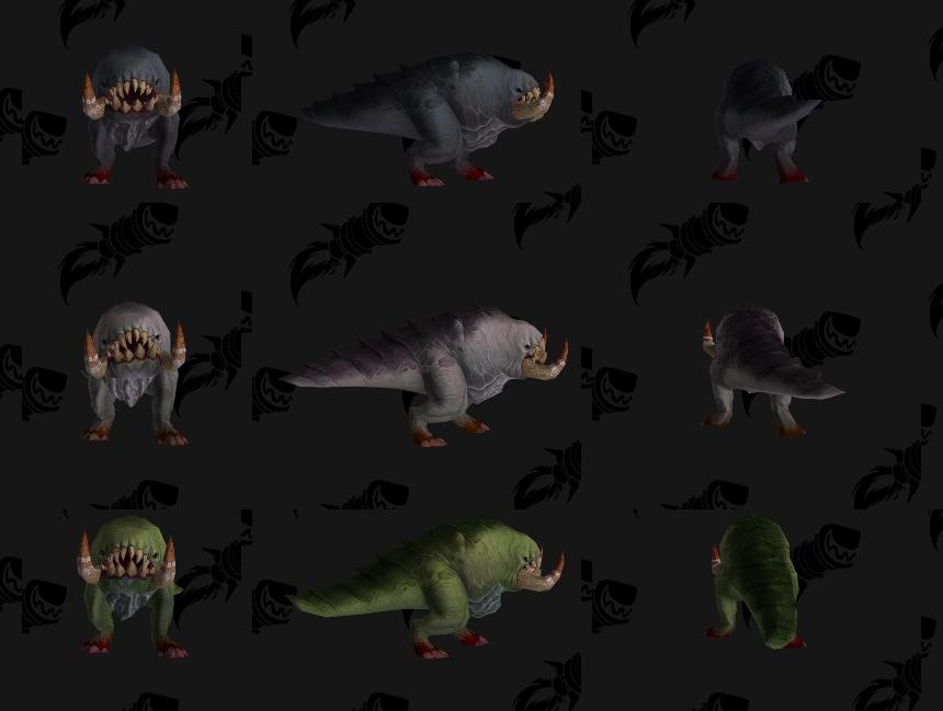 Bêtes des Trolls de sang - Battle for Azeroth