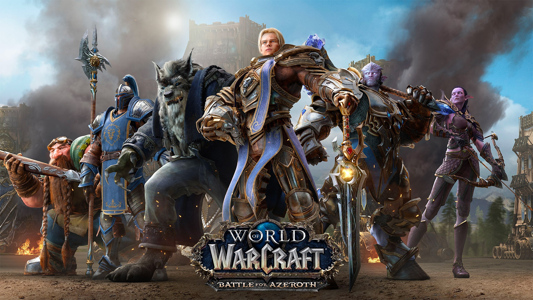 Key art Battle for Azeroth (Alliance)