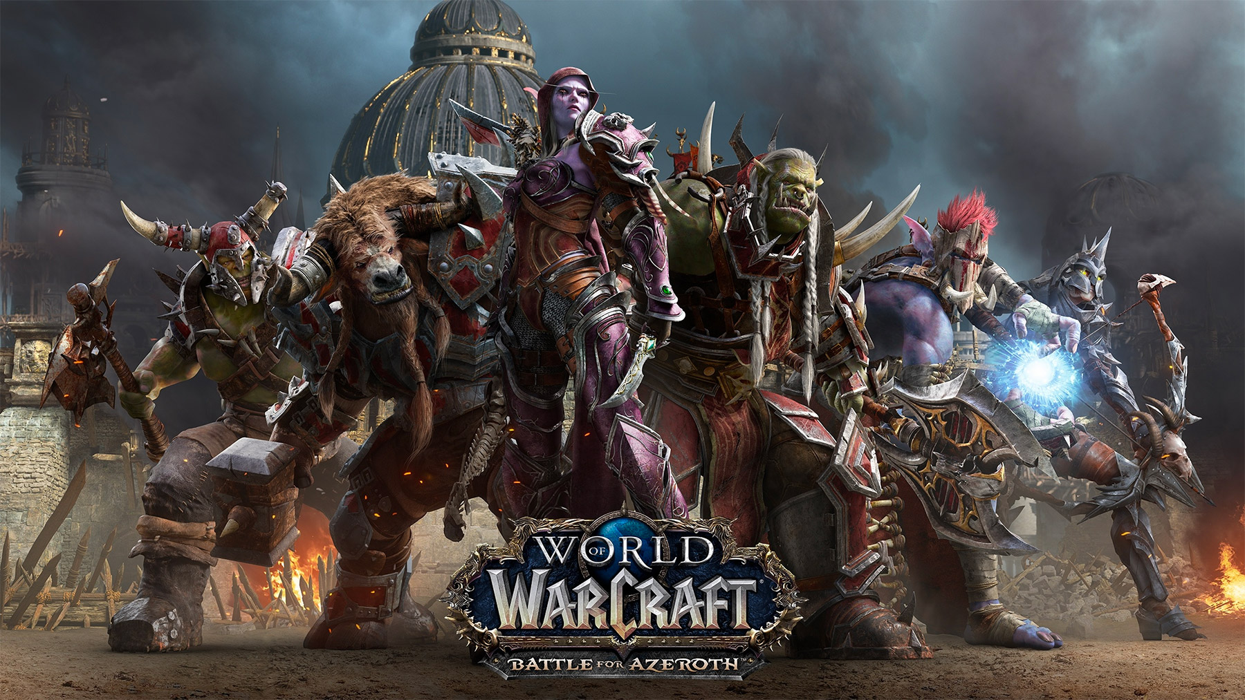 Key art Battle for Azeroth (Horde)