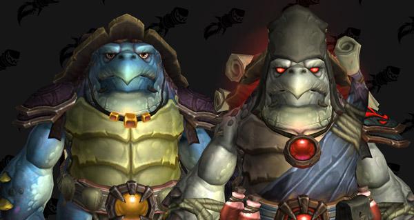 battle for azeroth : les modeles de la faction tortollan