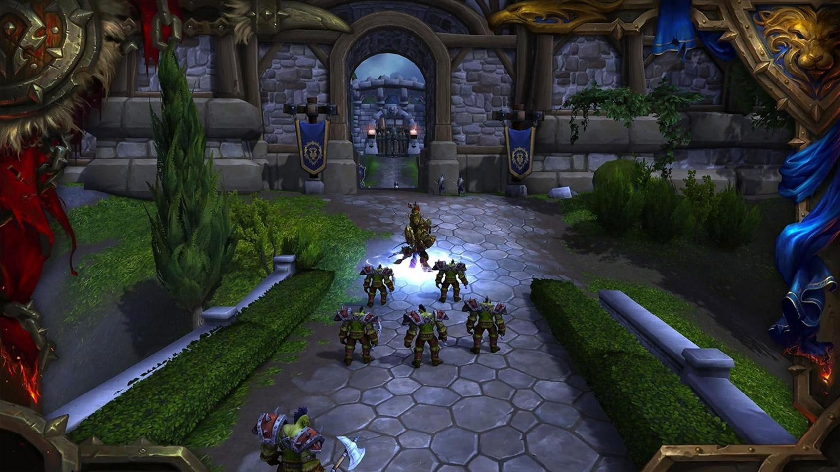 Les fronts de guerre reprennent des éléments stratégiques de Warcraft III