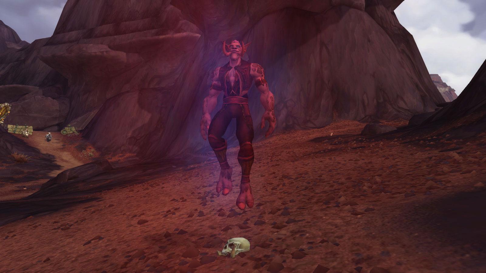 Crâne d'explorateur fantômatique