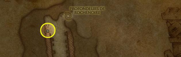Emplacement de la taupe mécanique au Mont Rochenoire
