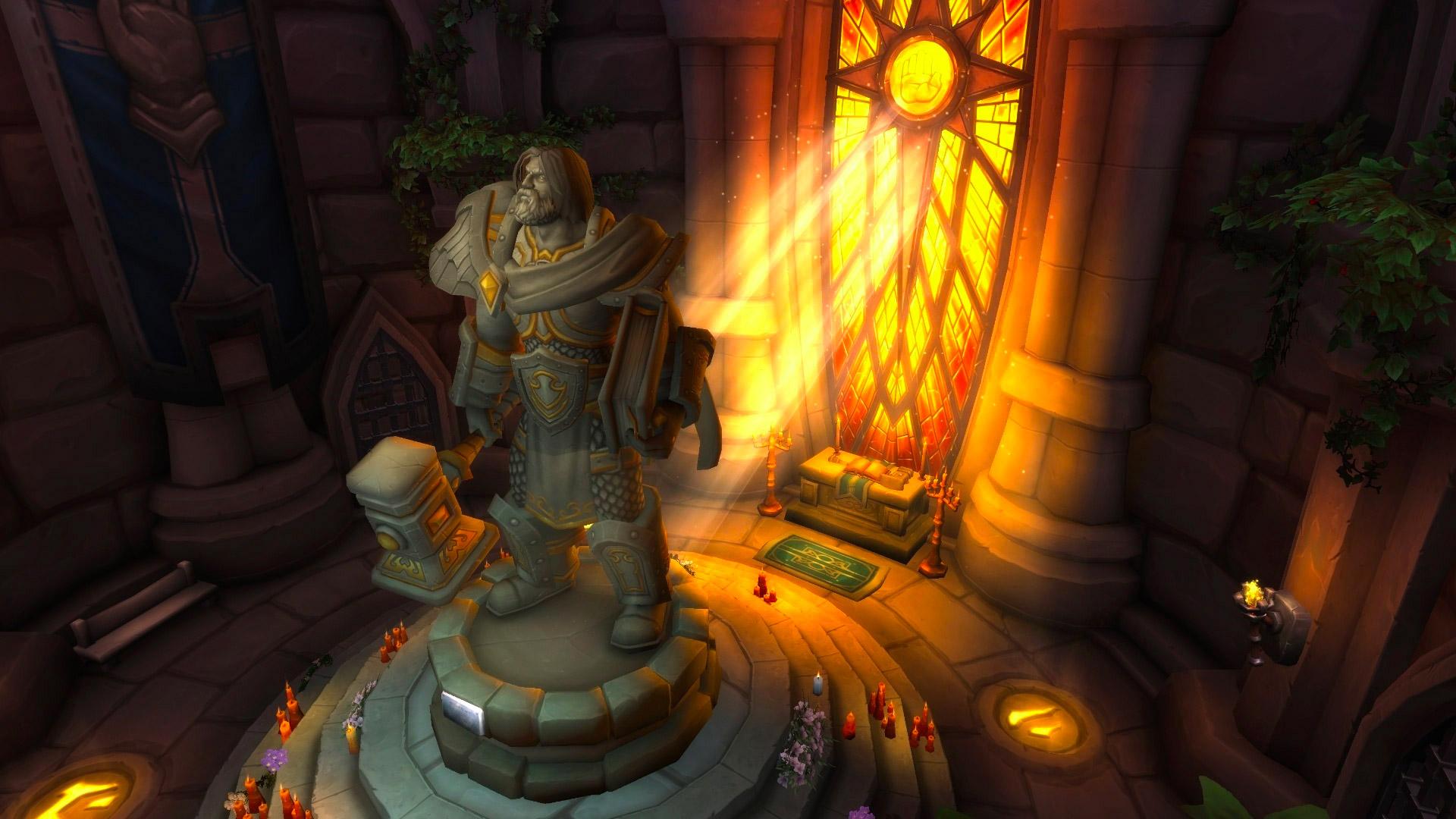 Le tombeau d'Uther a été entièrement mis à jour