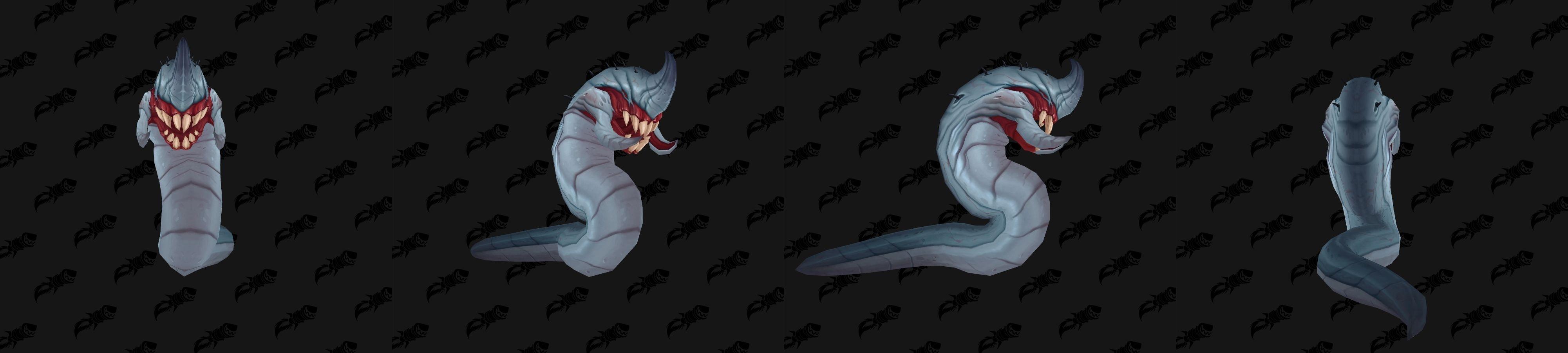 Un rejeton de G'huun infeste plusieurs monstres du donjon mythique
