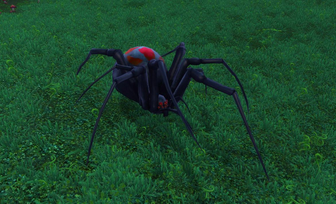 Araignée minière au patch 8.0