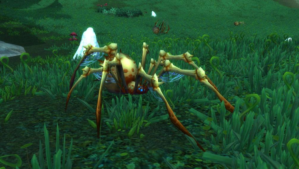 Modèle araignée osseuse au patch 7.3.5