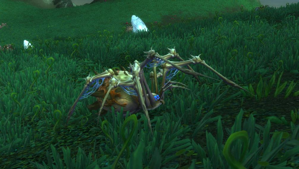 Modèle araignée osseuse au patch 8.0