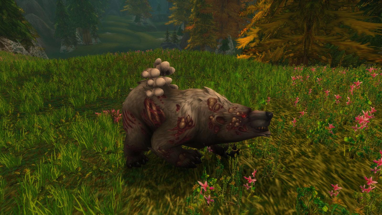 Posture de l'ours au patch 7.3.5