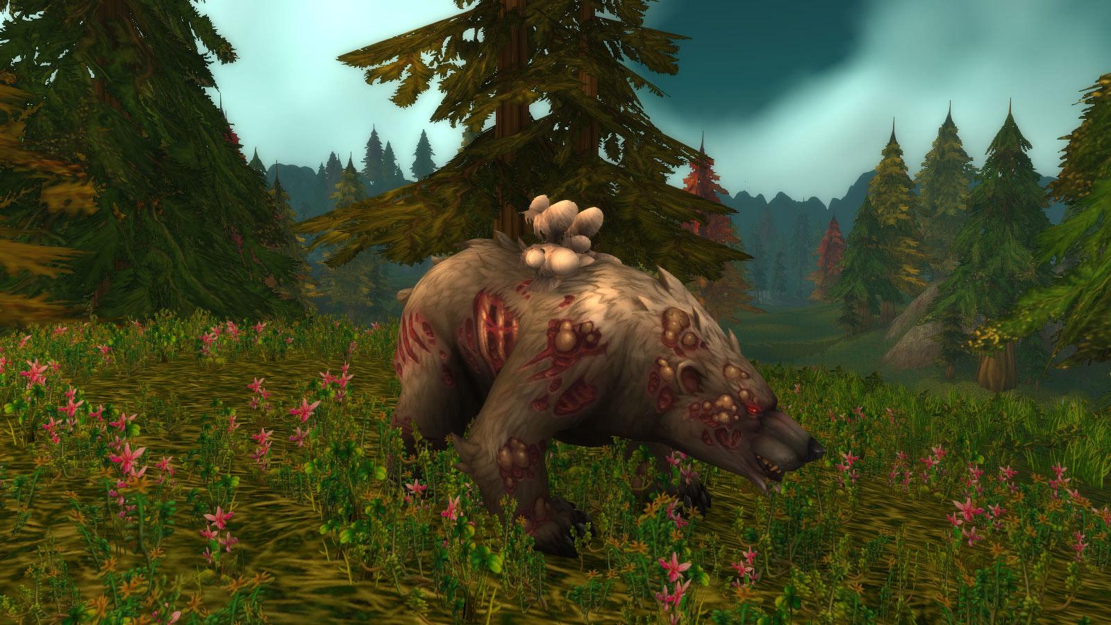 Posture de l'ours au patch 8.0