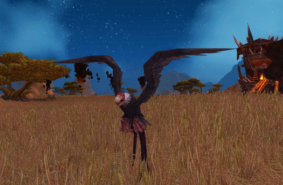 Modèle de vautour au patch 8.0