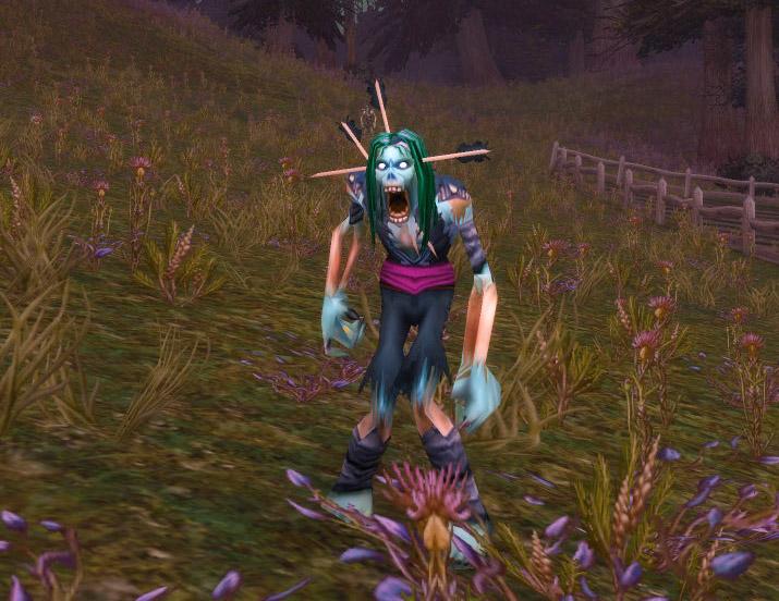 Modèle zombie au patch 7.3.5