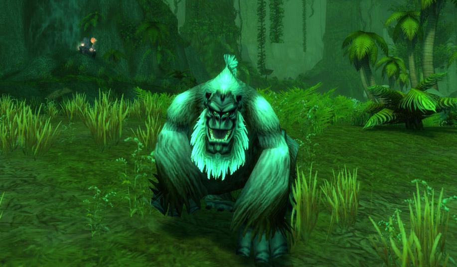 Modèle de gorille au patch 7.3.5