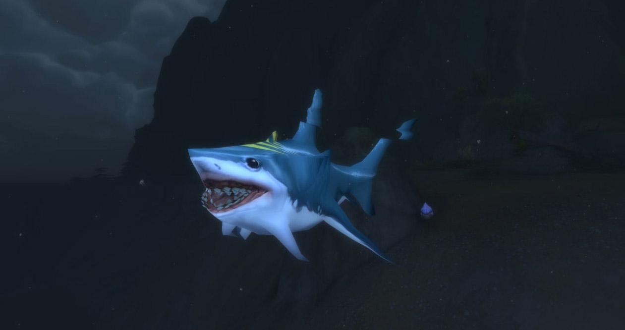 Modèle jeune requin au patch 7.3.5