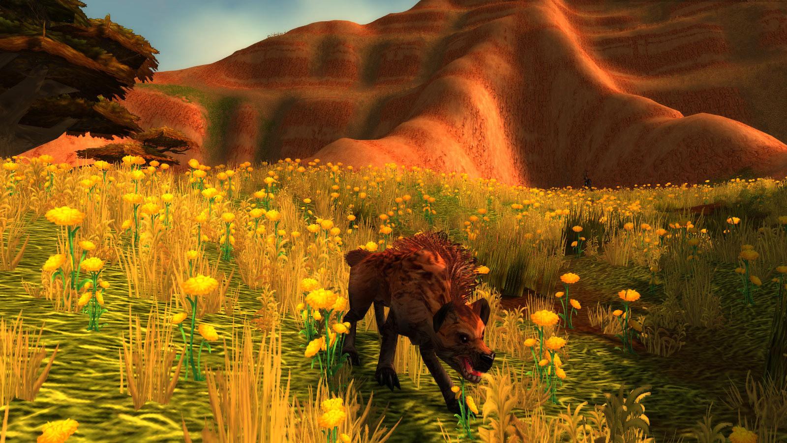 Modèle de hyène au patch 7.3.5