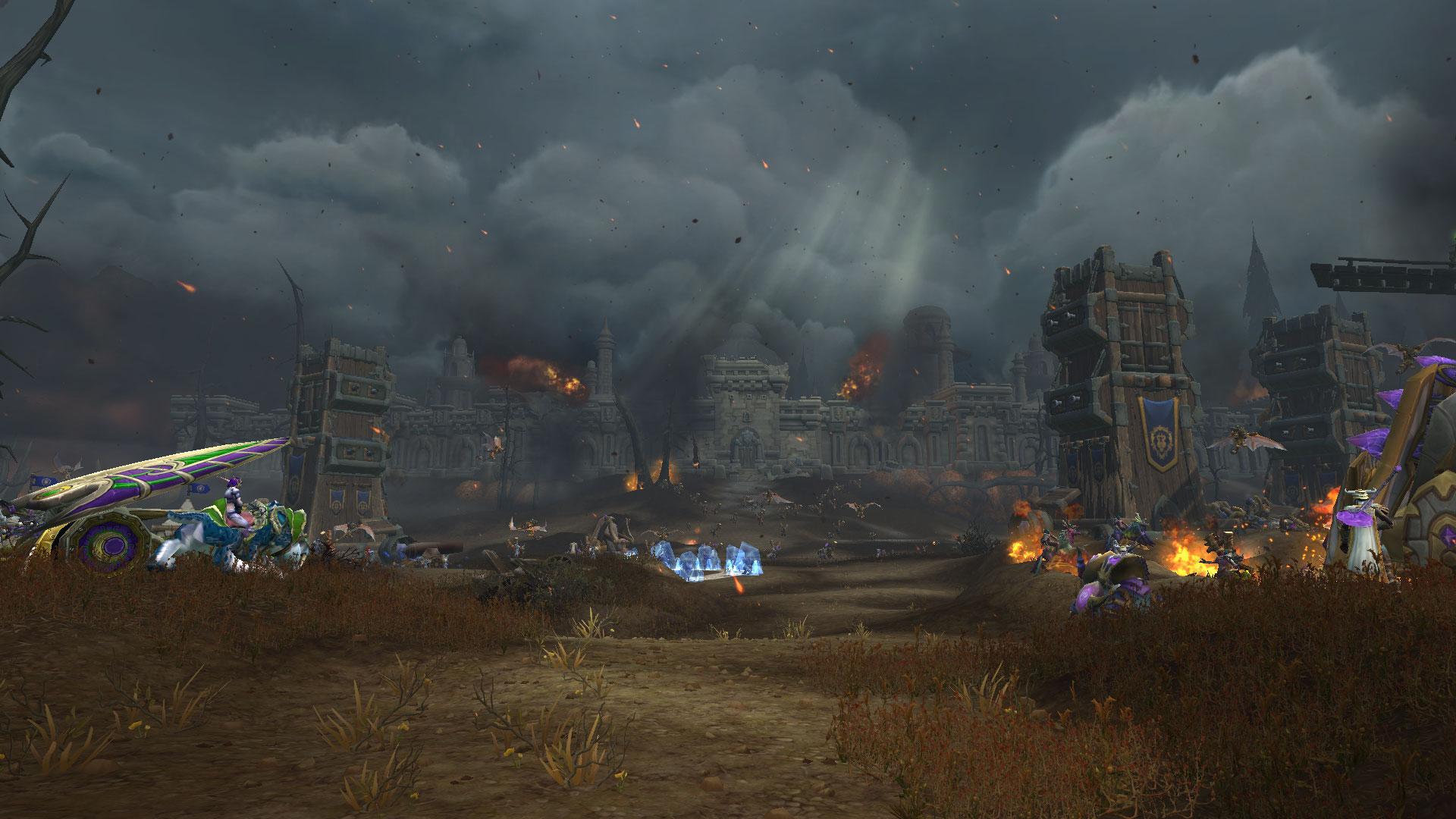 La bataille de Lordaeron au début de la campagne militaire