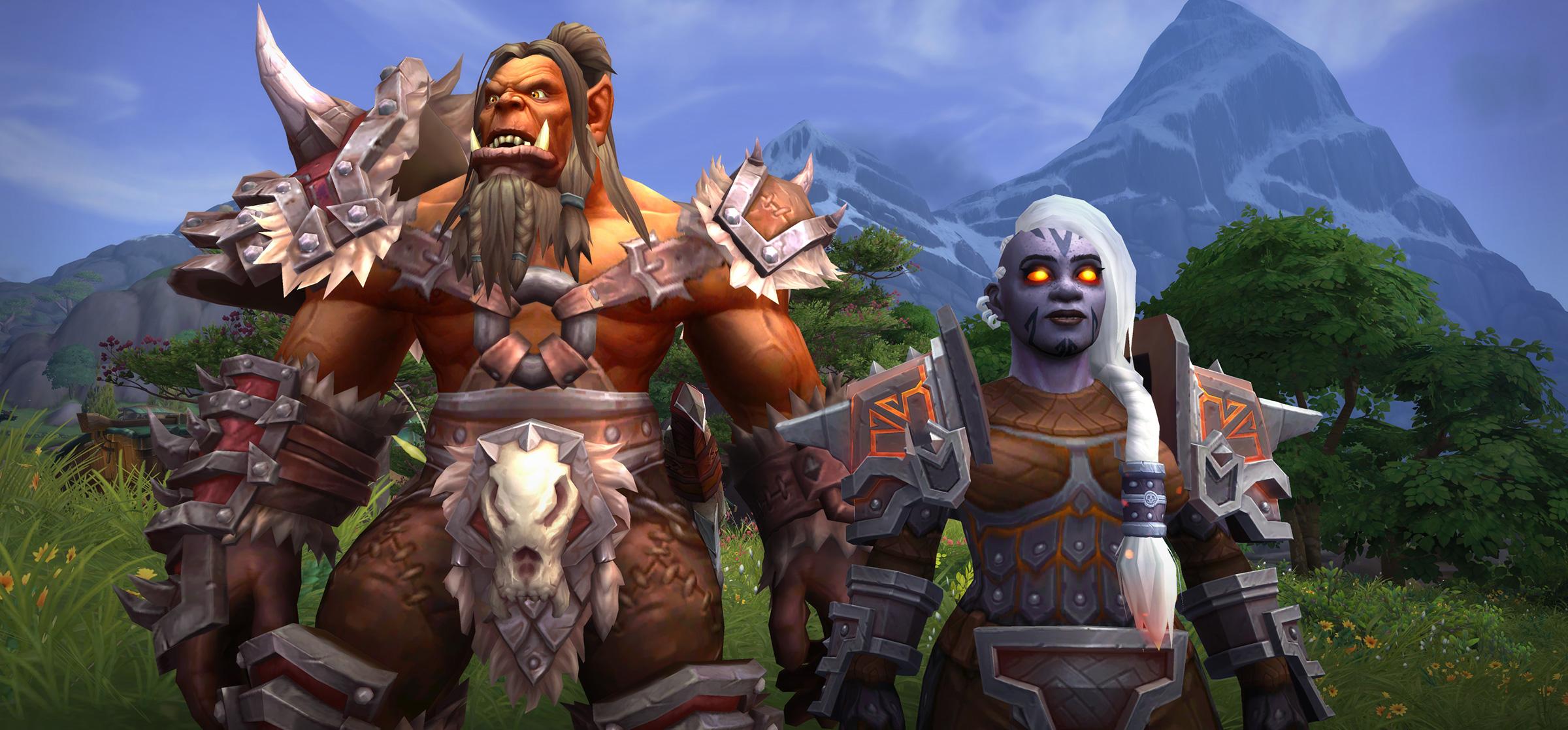 Les races alliées Orc Mag'har et Nain sombrefer se débloquent dès la sortie de Battle for Azeroth