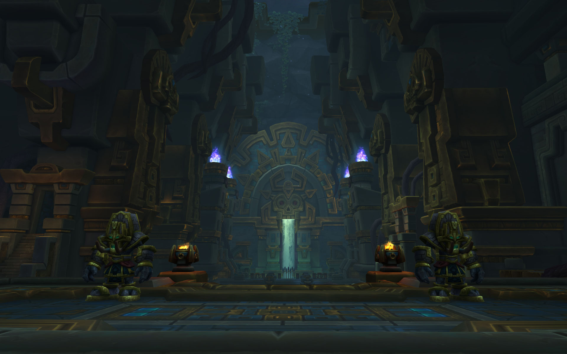 Le Repos des rois est le tombeau des plus grands souverains de l'empire Zandalari