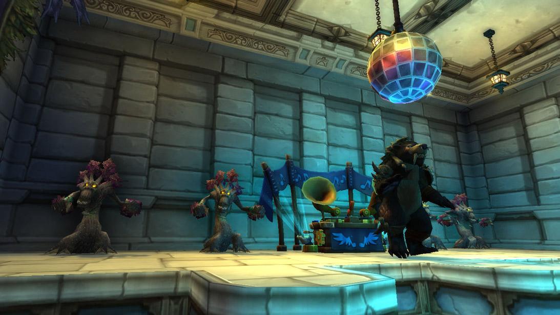 Une fois sur scène vous bénéficiez du buff Envie de danser