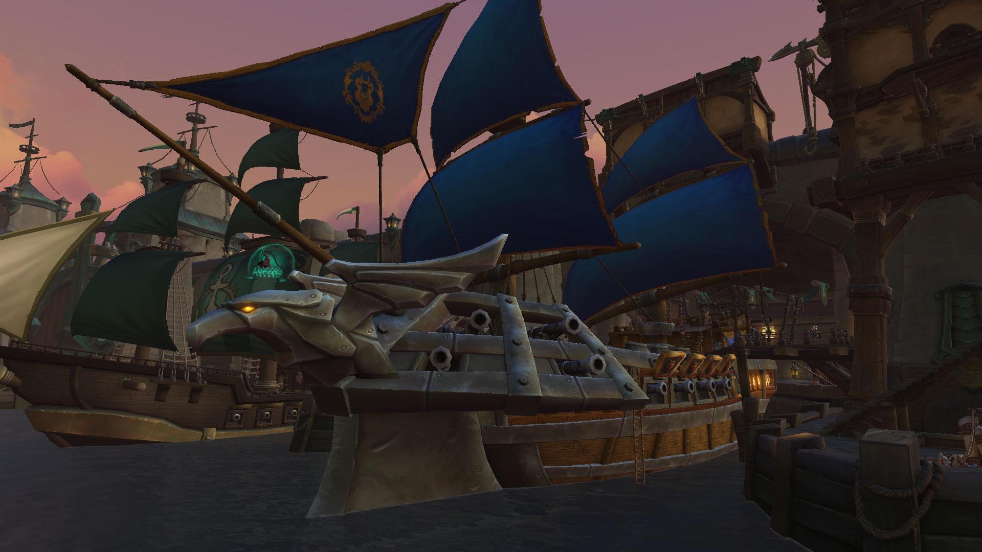 Rejoignez le navire dans votre capitale pour démarrer votre campagne militaire