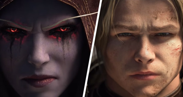 battle for azeroth : 2 courts teasers d'anduin et sylvanas