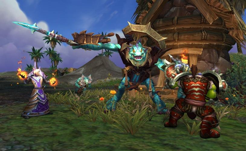 Correctifs pour le leveling dans World of Warcraft