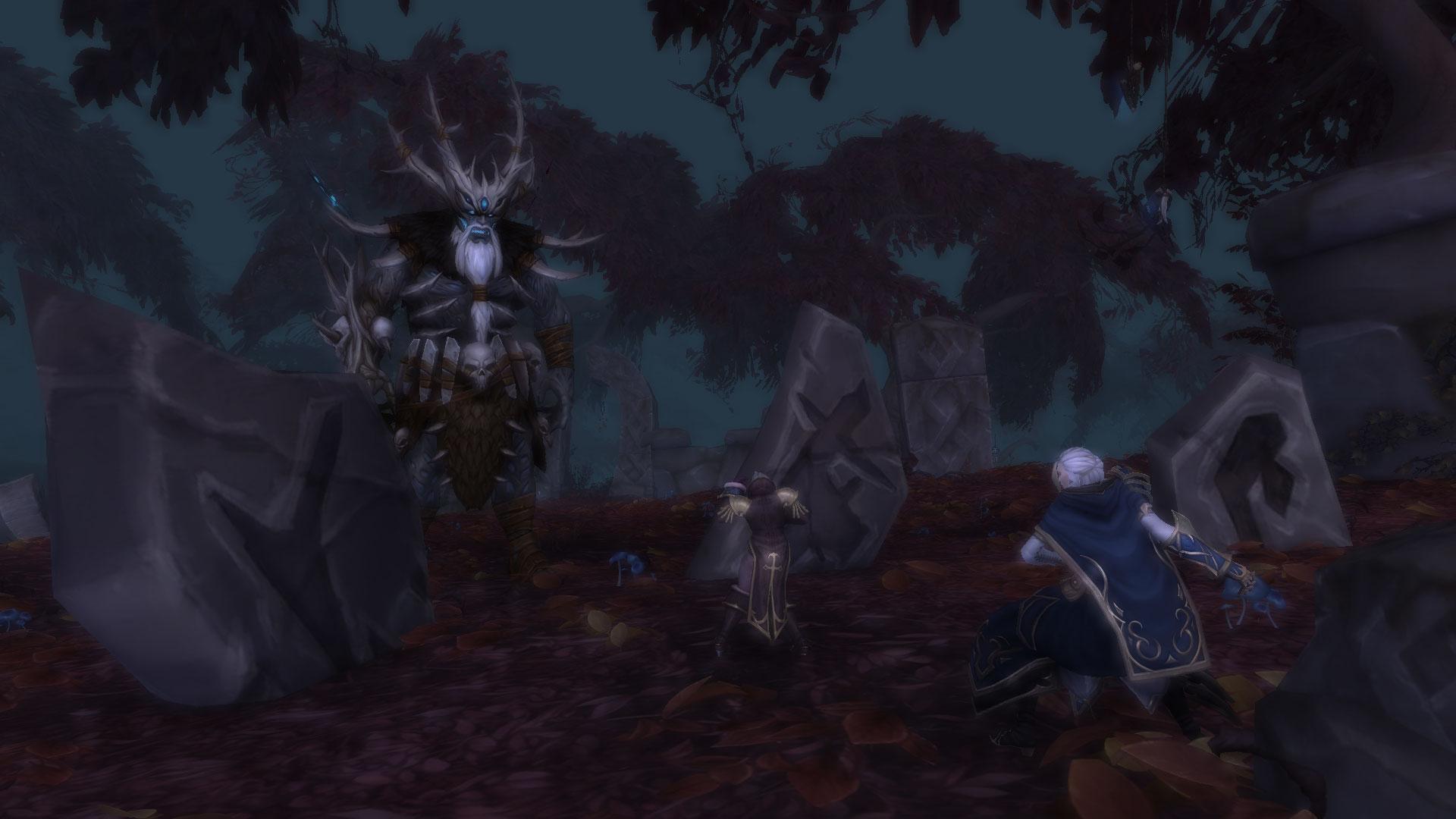 Gorak Tul attaque Katherine et Jaina Portvaillant, mais est finalement vaincu