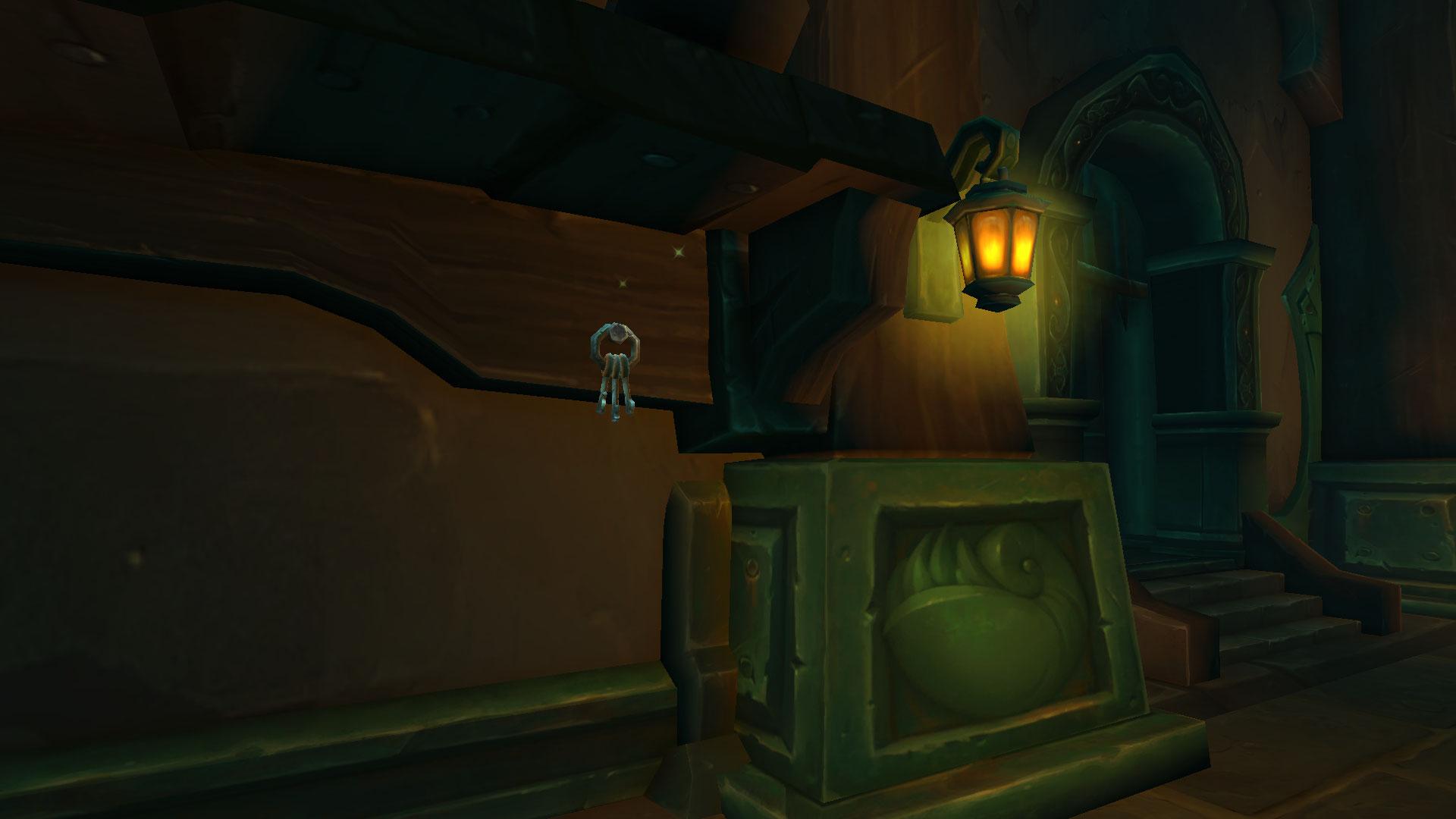 Le passe-partout Corsandre est dans une pièce de l'avant-dernier étage de Tol Dagor
