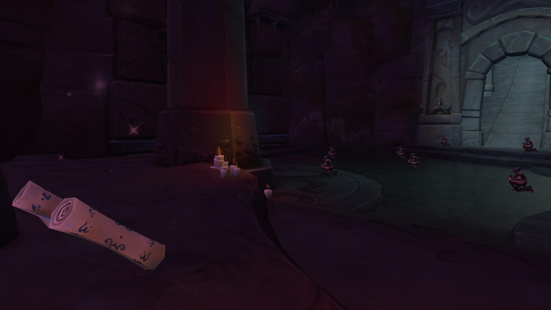 Le rituel de passage est dans une pièce sur le chemin du troisième boss du Sanctuaire des Tempêtes