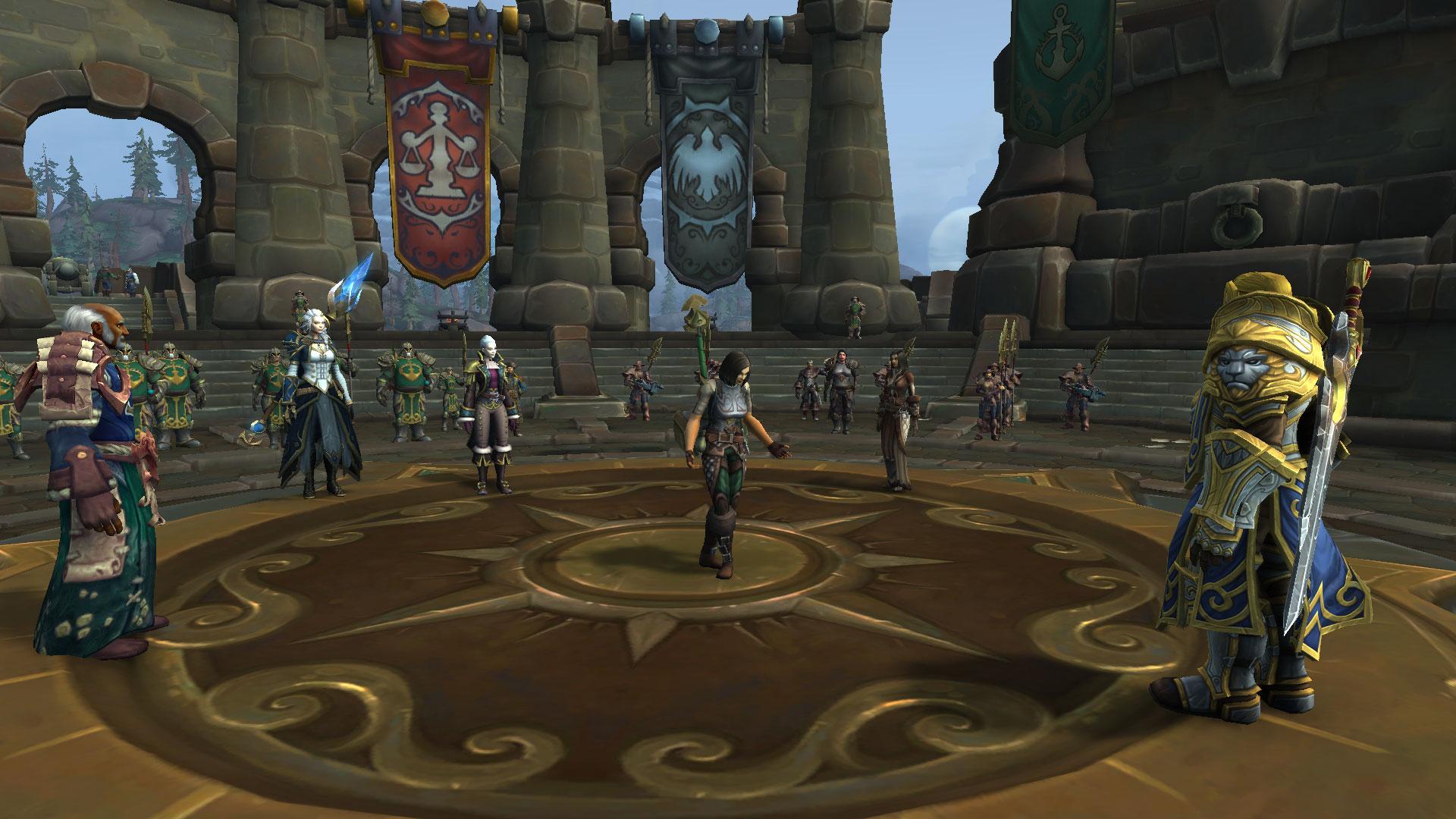 Taelia, personnage central des quêtes de Kul Tiras, est la fille de Bolvar Fordragon, l'actuel roi-liche