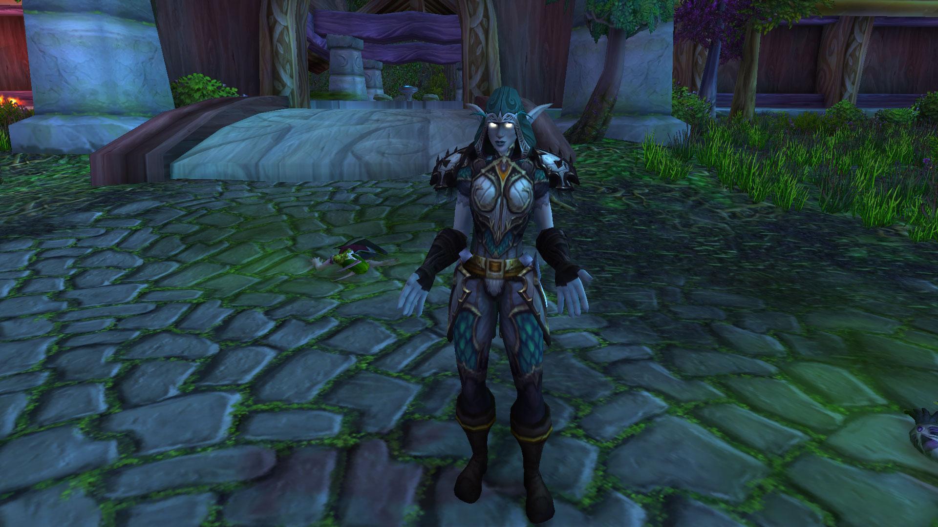 La capitaine Elfe de la nuit Delaryn Lune-d'Été