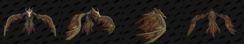 Forme de vol du Druide Humain de Kul Tiras - coloris marron