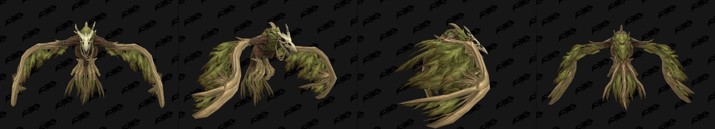 Forme de vol du Druide Humain de Kul Tiras - coloris vert