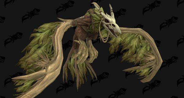 humain de kul tiras : la forme druidique de la race alliee
