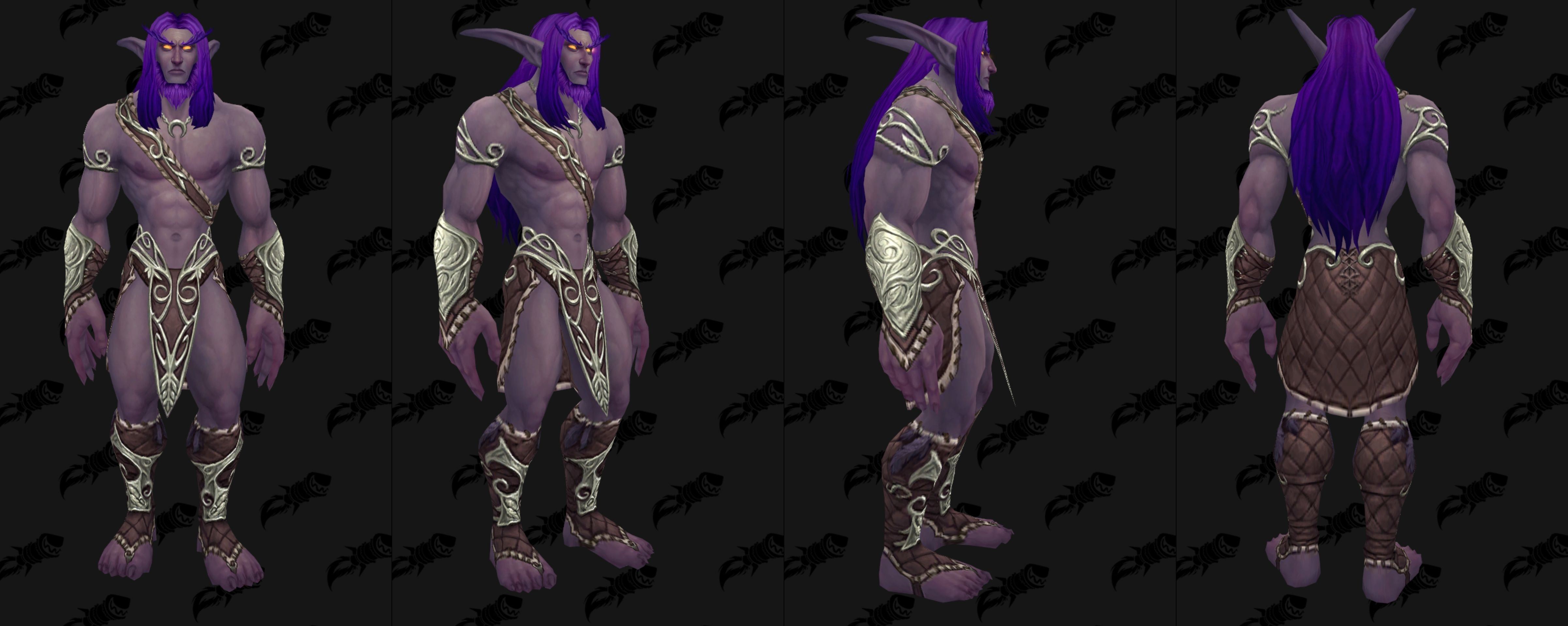 Nouveau modèle d'armure PnJ archer Elfe de la nuit