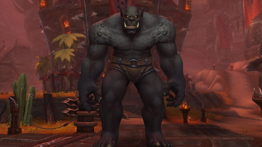 Orc Mag'har - Peau