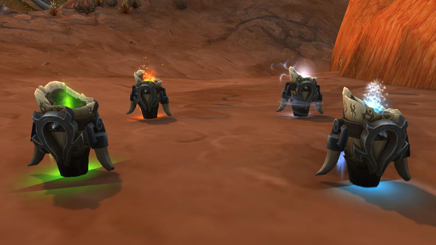 Nouveau modèle de totems pour les Orcs Mag'har Chamans