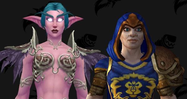 battle for azeroth : de nouvelles armures pour les pnj elfe de la nuit et les gardes
