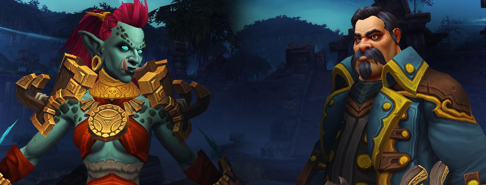 Les Humains de Kul Tiras et les Trolls zandalari ne sont pas disponibles au début de Battle for Azeroth